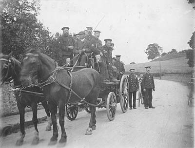 The First Fire Engine